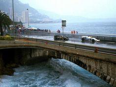 Monaco GP, 1984. Ayrton Senna in the Toleman.