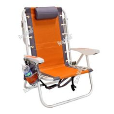 Superieur Amazon.com: Ultimate Backpack Beach Chair With Cooler   LayFlat 5 Position:  Sports