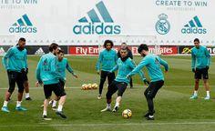 Back to Training......preparation for match against Celta Vigo!! LaLiga 2017-18...VAMOS!