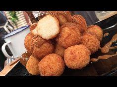 Croquetas de arroz con leche y naranja rebozadas en coco - Recetas – Cocineros Argentinos