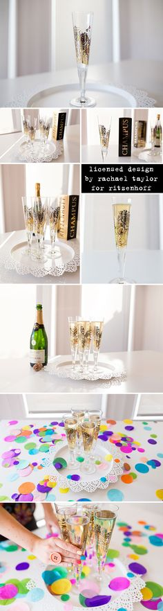 Licensed design by Rachael Taylor for Ritzenhoff Champus glassware | Photography by Kimmy from Struth Photography