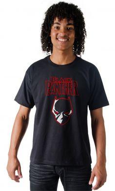 Camiseta - Pantera Negra - Camisetas Personalizadas,Engraçadas|Camisetas Era Digital