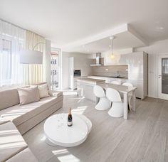 Rekonstrukce interiéru bytu. Foceno pro Štička architekti.