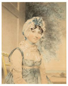 Maria Edgeworth, novelist 1807 by John Downman