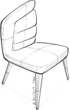 1001 chair sketches
