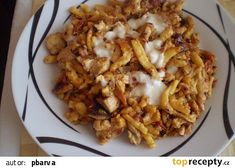 Especially with chicken mixture - Especially with chicken mixture - Gnocchi, Risotto, Macaroni And Cheese, Food And Drink, Healthy Recipes, Chicken, Cooking, Ethnic Recipes, Foods