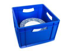 Large Plate Storage Box China Storage, Plate Storage, Storage Boxes, Outdoor Catering, Large Plates, Plastic Laundry Basket, Events, Home Decor, Storage Crates