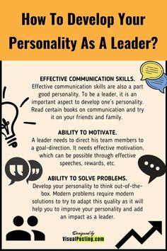 Effective Leadership Skills, Leadership Traits, Leadership Lessons, Leadership Activities, Leadership Coaching, Leadership Development, Leadership Quotes, Developing Leadership Skills, Leadership Models