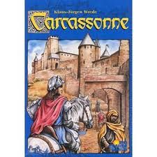 Carcasonne board game.  Kinda like Alhambra