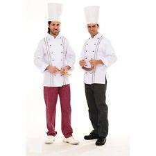 Siete pronti per il cambio di stagione? Giacca Uomo Cuoco Chef da lavoro Ristorante Cucina Abbigliamento Abiti