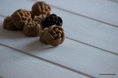 Dulcemente Nadia: Rosas de mantequilla de cacahuete