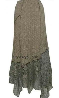 Pretty Angel Clothing Ladies Vintage Skirt In Brown. I'd make a few changes.