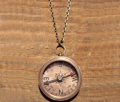 Vintage Compass Necklace Love it!