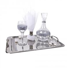 Σετ γαμου 881 Wine Decanter, Barware, Wine Carafe, Bar Accessories, Drinkware
