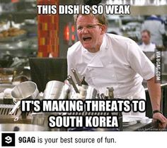 This dish is so weak...