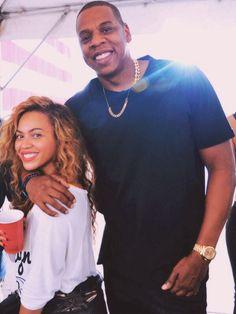 Beyonce. Jay Z.