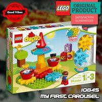 LEGO 10845 My First Carousel DUPLO Mainan Edukasi Anak Original #thekingbricks #theking #thekingid #kingbricks #gvonline #uhappyihappy #tokolegoterpercaya #tokomainanoriginal #lego10845 Lego Duplo Sets, Lego City, Lego Star Wars, Avengers, Lunch Box, The Originals, The Avengers, Bento Box