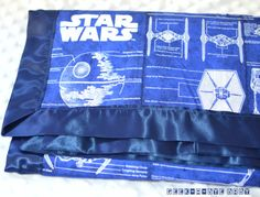 CUSTOM Star Wars Cotton or Flannel Blanket backed by geekabyebaby, $35.00