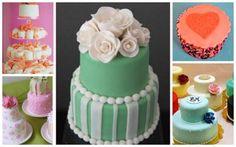 Mini pasteles originales para mesas de dulces. Fotos de White Sugar