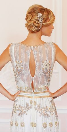 Gatsby wedding dress