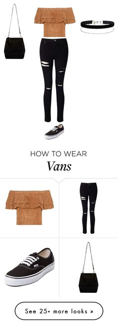 """Sans titre #6120"" by ghilini-l-roquecoquille on Polyvore featuring Miss Selfridge and Vans"