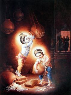 Krishna Lila, Bal Krishna, Krishna Art, Radhe Krishna, Krishna Painting, Shree Krishna, Sri Krishna Photos, Lord Krishna Images, Baby Images