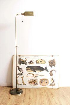 Hollywood Regency stijl leeslamp. Goudkleurige vintage vloerlamp | Lampen | Flat Sheep Retro Design, Persian Rug, Chair Design, Vintage Furniture, Sheep, Hollywood, Rugs, Home Decor, Persian Carpet