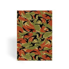Oman DPM CAMO Greeting Card