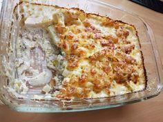 Zutaten    500 gHackfleisch, vom Schwein oder gemischt  2 m.-große  Kohlrabi  200 gCrème fraîche  250 mlCremefine  200 g Gratin...