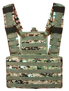 Taigear Airsoft Molle Tactical Chest Rig Woodland Digital Camo noah