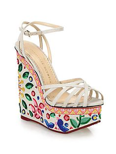Charlotte Olympia Celebration Meredith Sequined