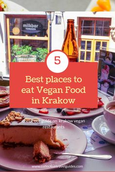 Looking for cool places to find the best Vegan food, cakes and other delicious desserts in Krakow? Learn more from our guide on the best places to eat Vegan food in Krakow and cool places to hang out.