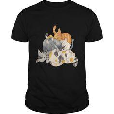 Cat Nap Siesta Time cat t shirt