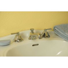Strom Plumbing Mississippi Widespread Bathroom Sink Faucet with Metal Lever  Handles Sacramento Tub and Shower Set Exposed