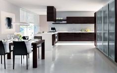 Modern kitchen design suits your kitchens need