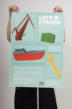 Lato w Stoczni POSTER by Bang Bang Design Studio , via Behance