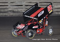 Driver: Lynton Jeffrey  Car #: 12  Location: Knoxville, Ia  Date: 5/5/12  Race Action Photos   Sprint Cars, Midgets, Indy Cars