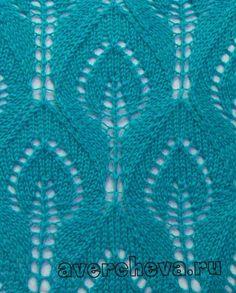 подборка вязание спицы узор ажур схема декор дизайн идея рукоделие творчество… (10 фото)