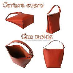 materiales grficos gaby cartera de cuero con molde