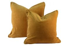 Putetrekk løvegul med kant, 2 str - Lama AS Throw Pillows, Living Room, Bed, Toss Pillows, Cushions, Stream Bed, Decorative Pillows, Home Living Room, Drawing Room