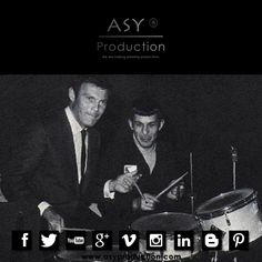 Adam West ( #Batman ) & Leonard Nemoy ( #Spock ) davul çalmaya çalışırken...