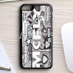 Mcfly Lyrics Cover iPhone 7 Plus Case | armeyla.com