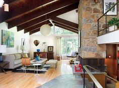 A Mid-Century Modern Marvel in Delaware | Old House Restoration, Products & Decorating