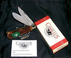 "Camillus #10G Knife American Wildlife ""The Elk"" Sid Bell Pewter Cast W/Packaging @ ditwtexas.webstoreplace.com"