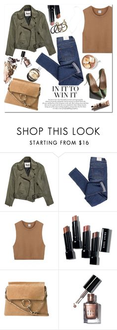 """Stylish"" by mjangirashvili ❤ liked on Polyvore featuring Acne Studios, Cheap Monday, Garance Doré, Bobbi Brown Cosmetics, Chloé, Chanel and Grace Lee Designs"