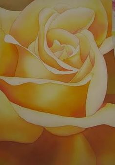 One of my favorite floral artists - Birgit O'Connor.  Her close-up flowers show beautiful blending of color and shadows that give the flower depth.  I took a workshop with her a few years ago and it was a dream come true for me.