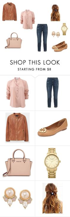 """SizePlus"" by d-divaa on Polyvore featuring STELLA McCARTNEY, Violeta by Mango, Tory Burch, Michael Kors, Topshop, Carolee and Urban Outfitters"