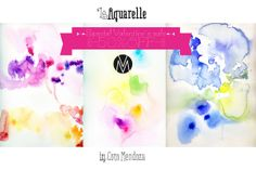 Le Aquarelle by MendozaVergara on Creative Market