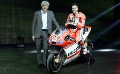 Presentazione Ducati Desmosedici GP14 - Andrea Dovizioso #ducati #desmosedici #dovizioso