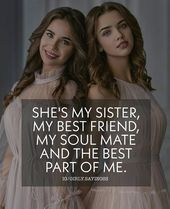 Koushee love you ❤ Sister Love Quotes, Besties Quotes, Girly Quotes, Funny Quotes, Birthday Quotes For Best Friend, Best Friend Quotes, Wish Quotes, Words Quotes, Sibling Quotes